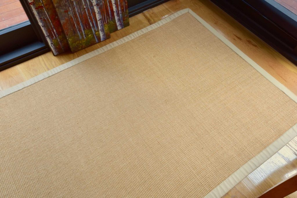FLORAL TEXTURED DESIGNER 100/% PURE INDIAN WOOL CLEARANCE RUGS IN IVORY 90X150CM